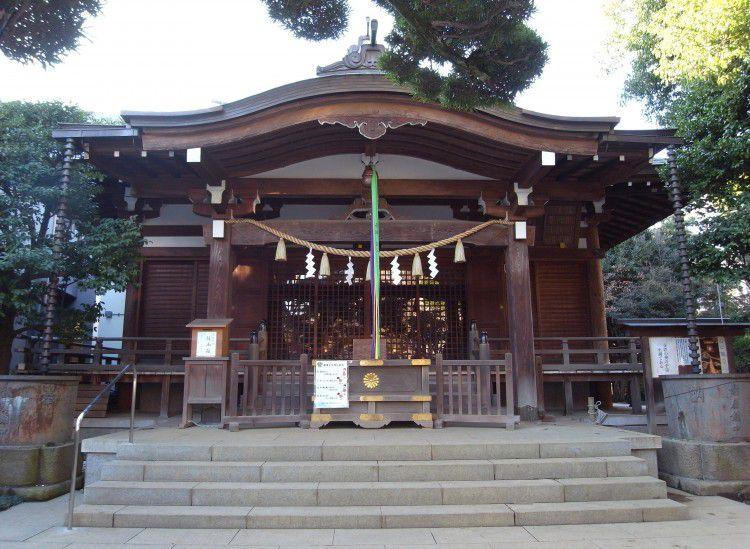 鳩森八幡神社