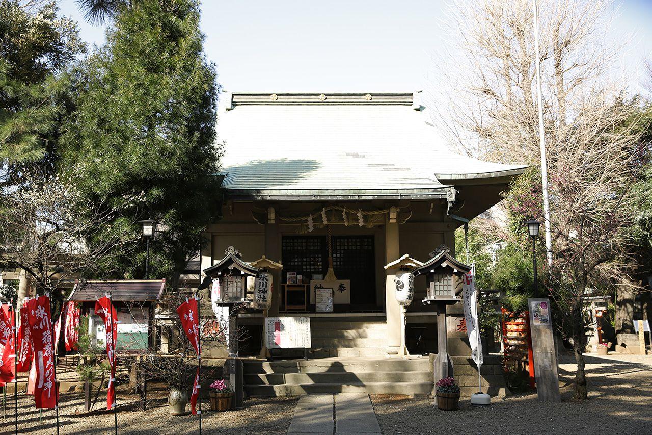 上目黒 氷川神社